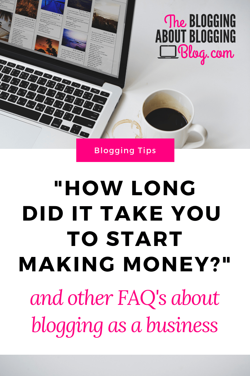 How long it took my #blog to become profitable (and other frequently asked questions about #blogging as a business)