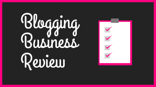 Blogging Business Review Image