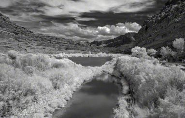 Colorado River – Infrared, Moab, Utah ©2014 Robert Marsala