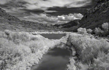 Colorado River – Infrared, Moab, Utah ©2014 Robert Marsala