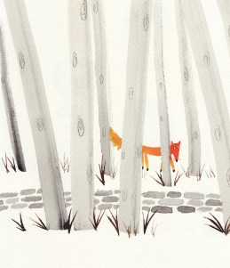 ∫A Fox in the Woods   personal work   2013 © Anna Raff