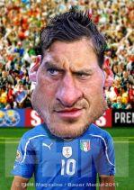 ∫ Francesco Totti FHM Commission © Rodney Pike.