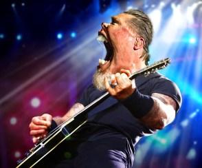∫ James Hetfield of MetallIca © Rodney Pike.