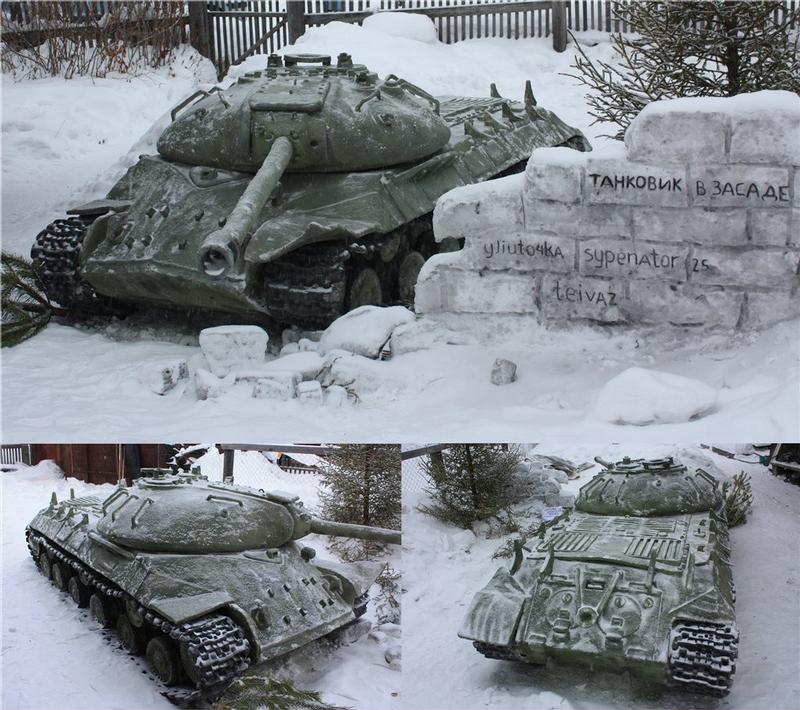 T-62 Snow Tanks