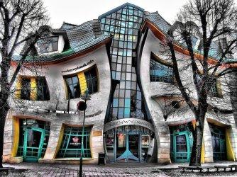 The Krzywy Domek in Poland