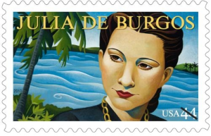 woman stamp
