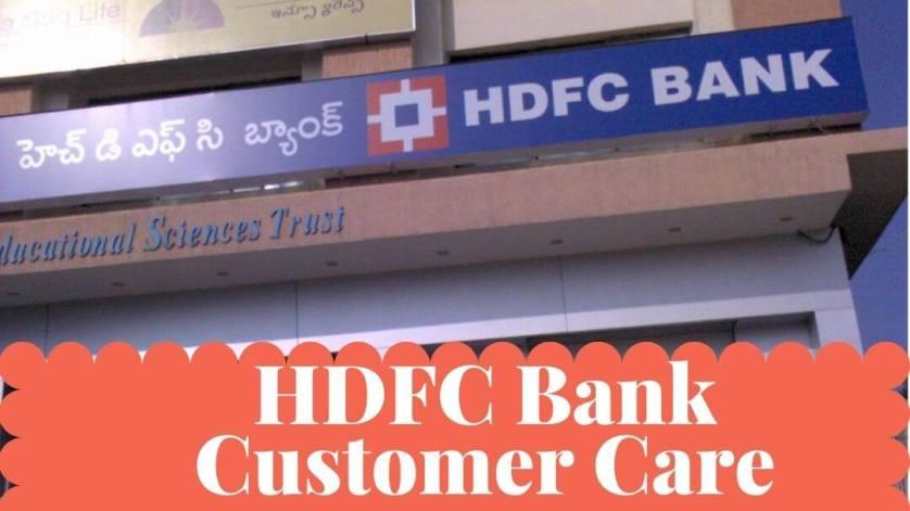 HDFC Customer Care