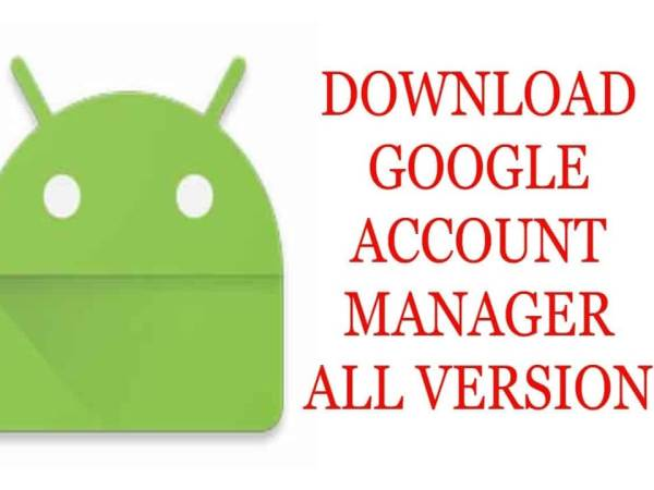 Google account manager download
