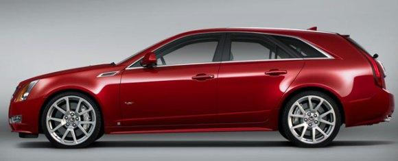 Cadillac CTS-V Wagon Mockup