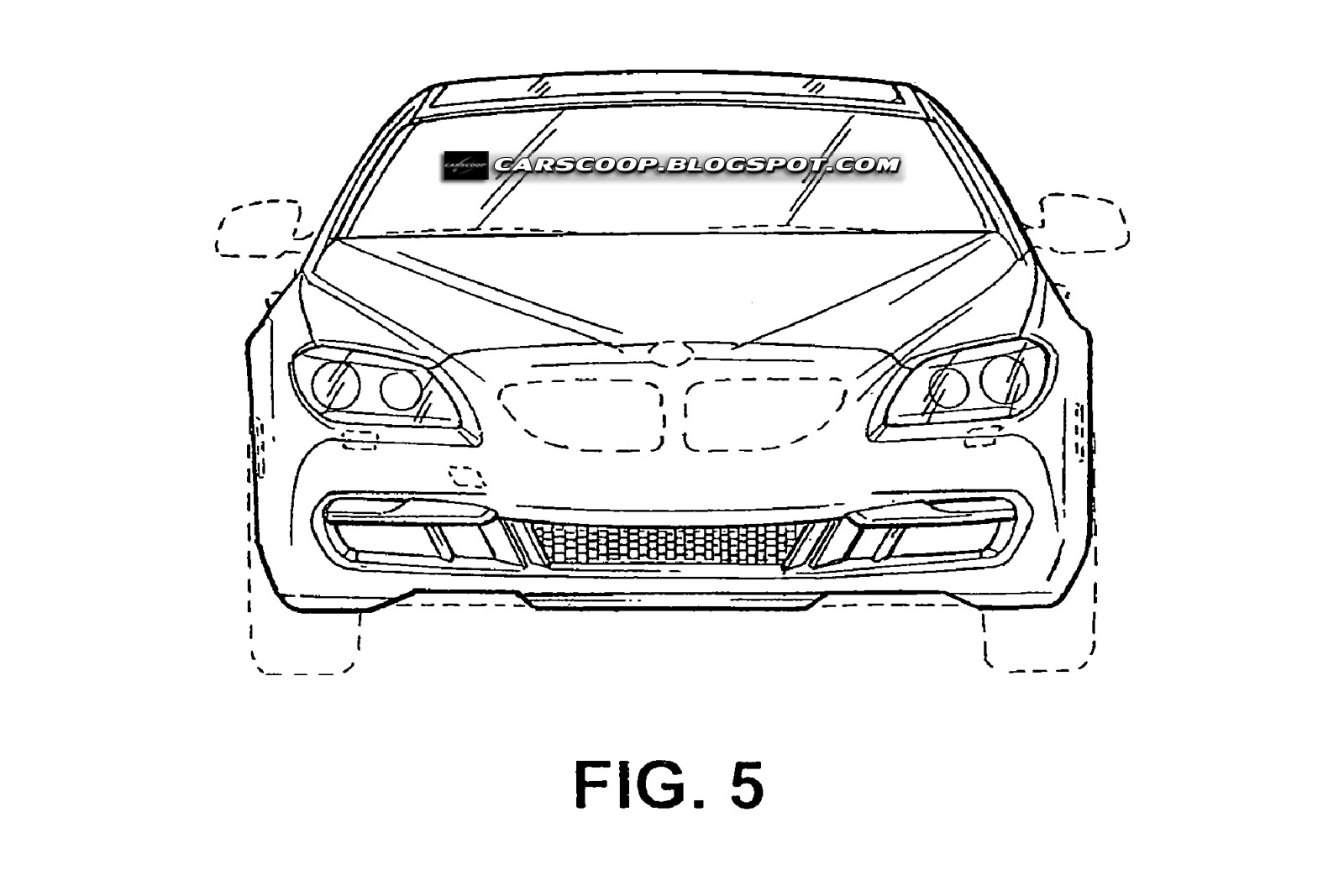 Patent images for production version of BMW Concept Gran