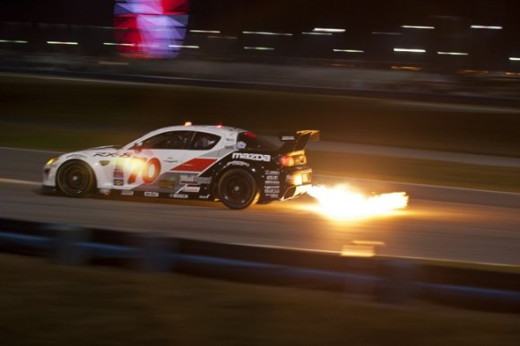 Mazda RX-8 at 2012 24 Hours of Daytona