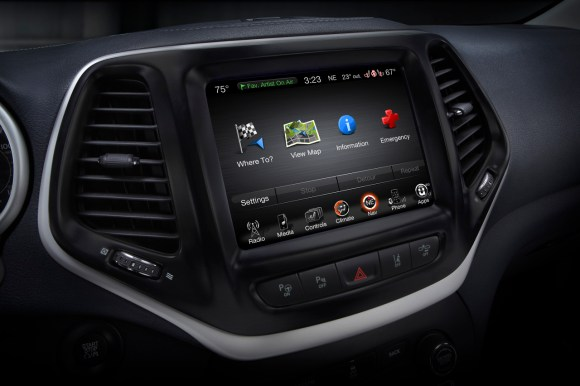 Jeep Cherokee UConnect