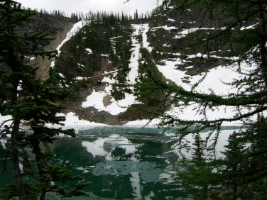 Lake Agnes - from solid ground2