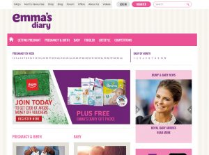 Top Pregnancy Blog - Emma's Diary