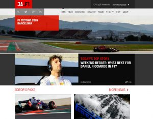 Top F1 Blogs - James Allen on F1