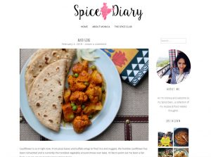 Indian Food Blogs - Monica's Spice Diary