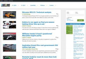 Top F1 Blogs - Race Fans