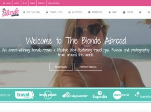 Solo Female Travel Blogs - The Blonde Abroad