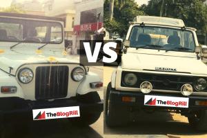 mahindra-thar-vs-maruti-gypsy