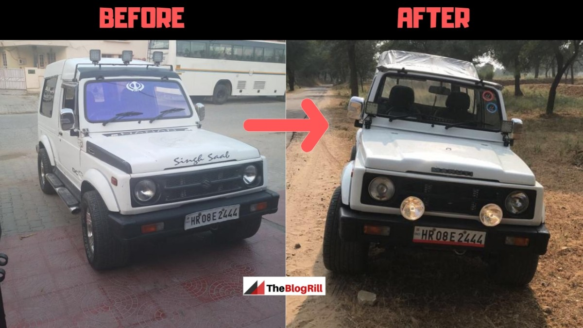 Maruti Suzuki Gypsy Conversion Guide: Hard Top to Soft Top