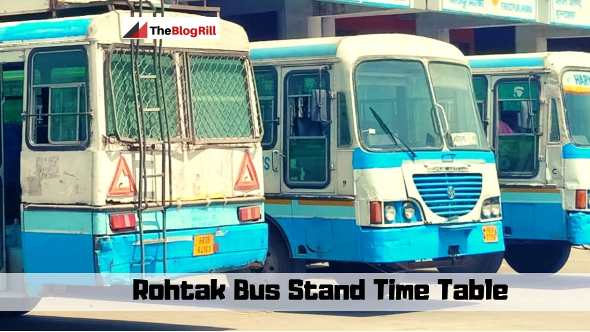 Rohtak Bus Stand Time Table 2019 Updated by hartrans.gov.in