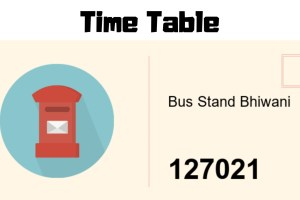 Bhiwani-bus-stand-time-table