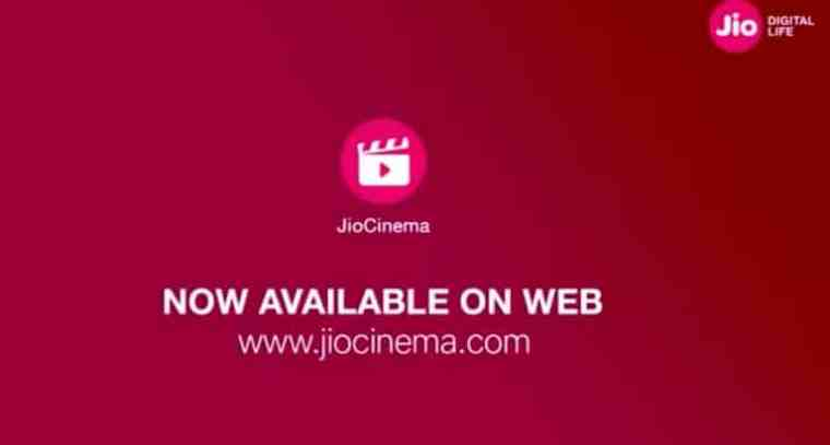 online tv app jio cinema