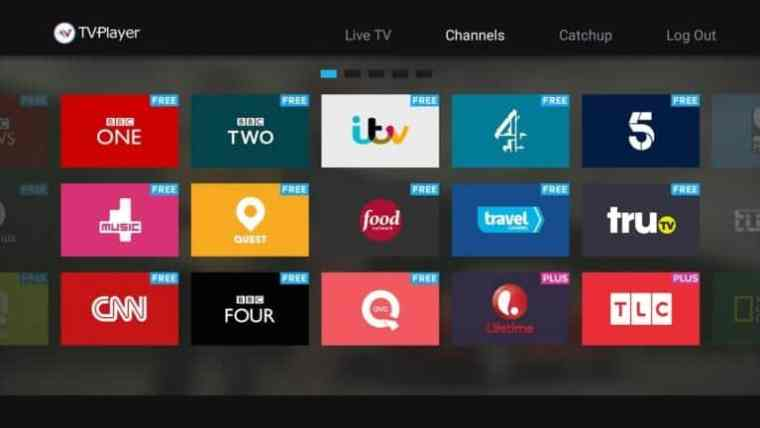 tv streaming app