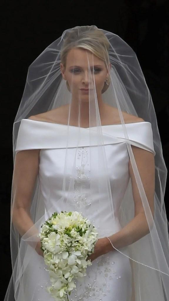 Princess Charlene Wedding