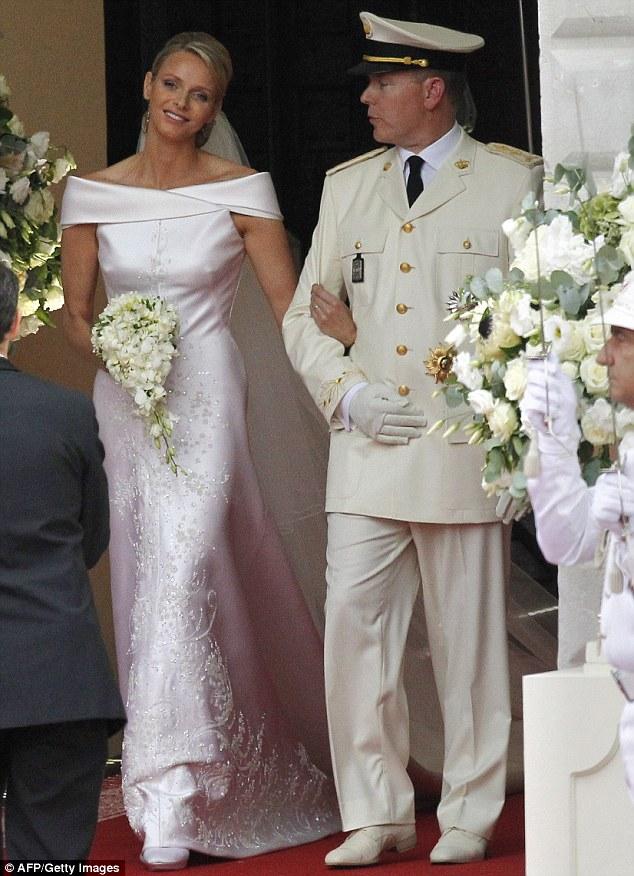 Princess Charlene and Prince Albert Wedding