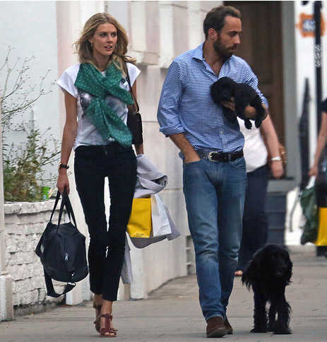James Middleton Donna Air Puppy