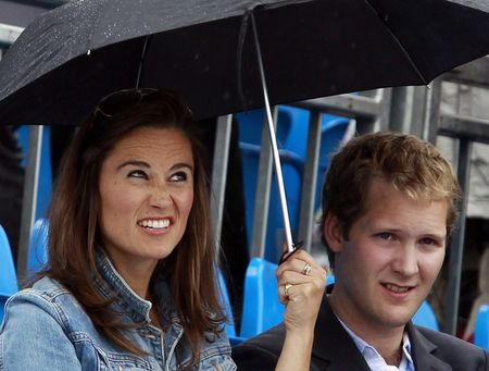 Pippa Middleton Pulling A Face