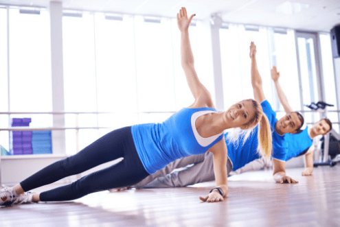 Side Planks pilates
