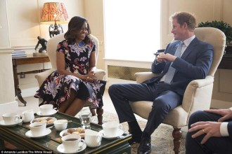 Prince Harry and FLOTUS