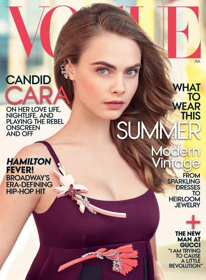 Cara Delevingne Vogue Cover