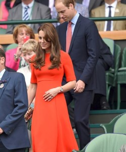 Kate Middleton Prince William Wimbledon 2015
