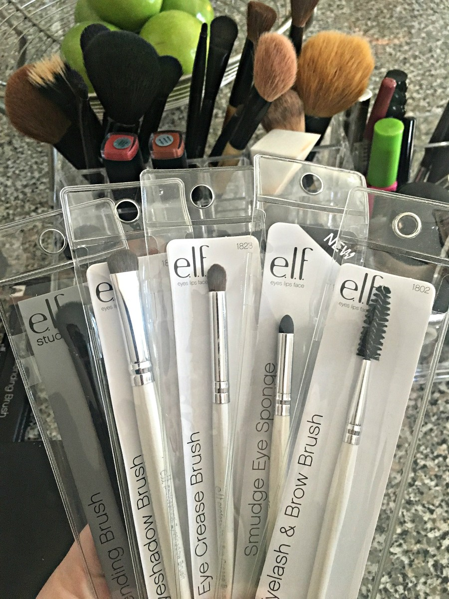 ELF Cosmetics Haul Brushes