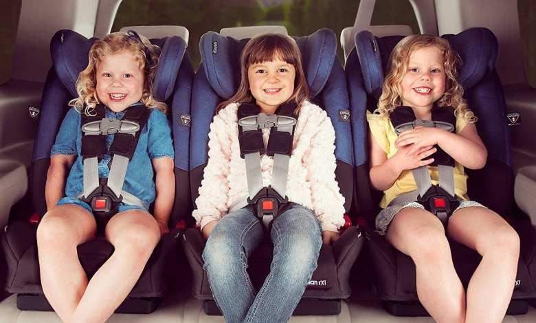 Narrow 5 Point Harness Car Seat