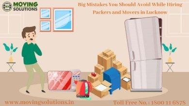Photo of Big Mistakes You Should Avoid While Hiring Packers and Movers in Lucknow