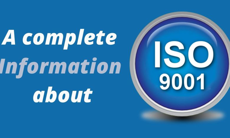 A complete Information about iso 9000