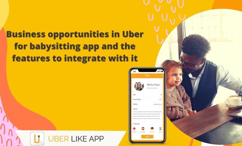 on demand babysitters app development