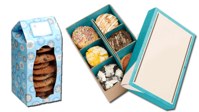 Photo of Designs of Cookie Boxes