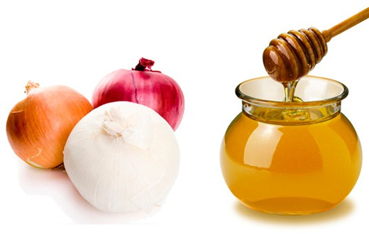 Onion and honey