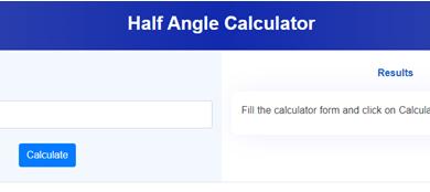Photo of Half Angle Calculator For Students