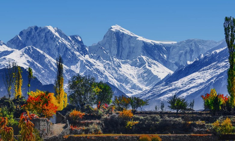 Hunza valley; a must see place