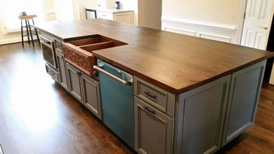 Photo of Debunking Common Myths Attached to Reclaimed Wood Countertops