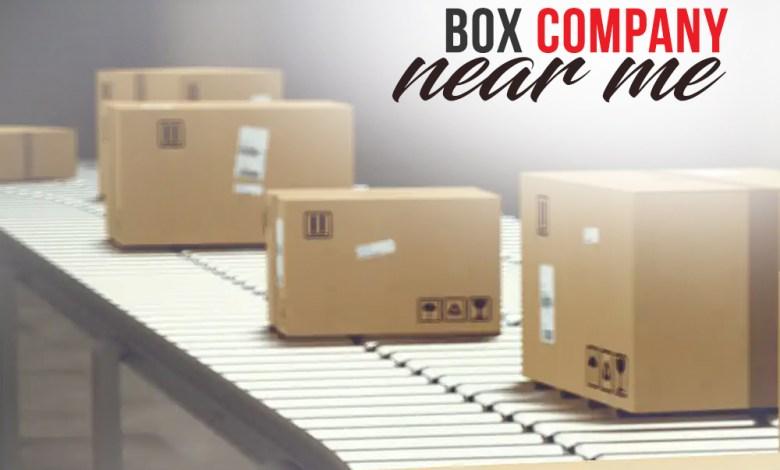 Box Company Near Me