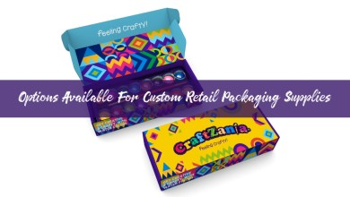 Photo of Options Available for Custom Retail Packaging Supplies