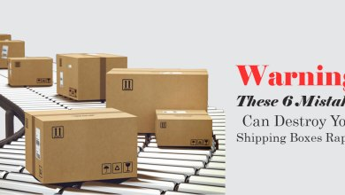 Photo of Warning: These 6 Mistakes Can Destroy Your Shipping Boxes Rapidly