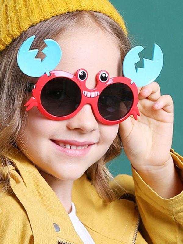 Kid Crab Pattern Sunglasses